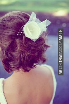 Neato - wedding hairstyles for short hair Wedding hairstyles for short hair back view... Ahhh this makes me miss my short hair! | CHECK OUT THESE OTHER AMAZING SHOTS OF GREAT Wedding Hairstyles for Short Hair HERE AT WEDDINGPINS.NET | #weddinghairstylesforshorthair #weddinghairstyles #hair #stylesforshorthair #hairstyles #hair #boda #weddings #weddinginvitations #vows #tradition #nontraditional #events #forweddings #iloveweddings #romance #beauty #planners #fashion #weddingph