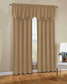 Peach Skin Curtain Panel