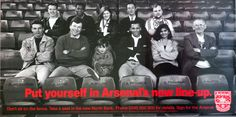 A complicated, but successful, plan to sell lifetime season tickets to raise money to build the stand at Highbury. Art Director, Creative Director, Sitting On The Fence, Season Ticket, Take A Seat, Copywriting, How To Raise Money, Take That, Seasons