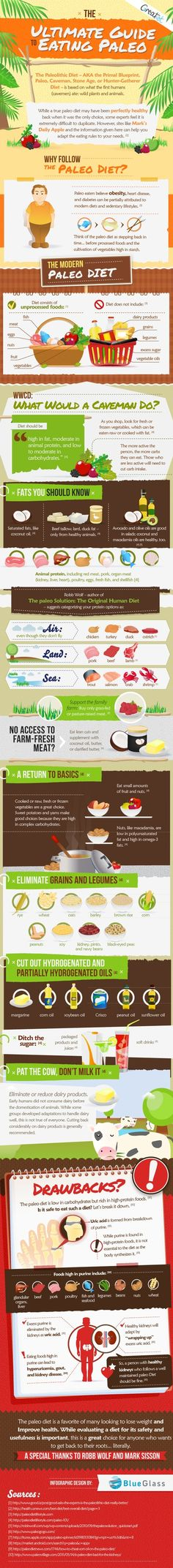 """""""The Best Paleo Diet Infographic on the Web"""" by MonicccaS"""