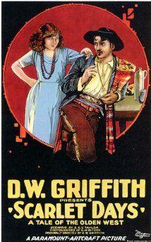 Scarlet Days (1919) Poster