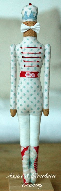 Nutcracker softie doll