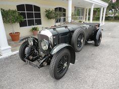The car James Bond really drove  1930 Bentley 4 1/2 litre