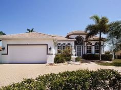 Luxury Villa in Cape Coral - Modern equipped cottage with boat for rent