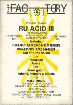 Wasp Factory 1991 RU