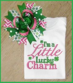 Hey, I found this really awesome Etsy listing at http://www.etsy.com/listing/122646733/im-a-little-lucky-charm-st-patricks-day