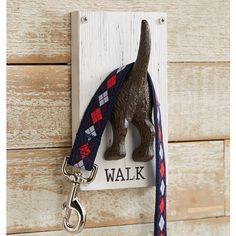 Amazon.com: Mud Pie Novelty Dog Leash Hook Hanger: Home & Kitchen