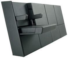 Furniture Design           Super Designy Auditorium Seating: Lamm's Genya System