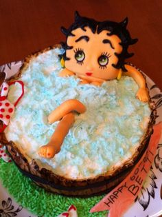 Betty Boop Cake Pic