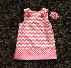 @Lauren Davison Graham  Cute dress for Riley!  And you could totally make this!!