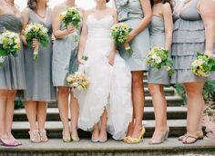 #Mismatched Bridesmaid Dresses
