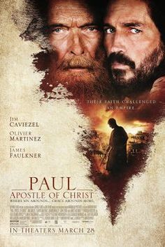 Paul: Apostle of Christ tells the story of one of the most important and influential men in history. Starring Jim Caviezel, James Faulkner, Olivier Martinez, and Joanne Whalley Films Chrétiens, Imdb Movies, 2018 Movies, Jim Caviezel, Christ Movie, Jesus Movie, Peliculas Online Hd, Paul The Apostle, Christian Films