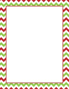 Printable Christmas chevron border. Free GIF, JPG, PDF, and PNG downloads at http://pageborders.org/download/christmas-chevron-border/. EPS and AI versions are also available.