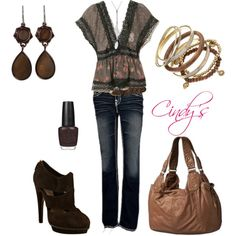 """""""Casual Cute"""" by cindycook10 on Polyvore"""