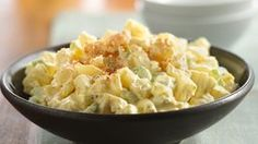 This classic potato salad recipe is a reliable favorite for picnics and parties. The crunch of celery balances this creamy potato salad that pairs perfectly with any potluck entrée, making this our go-to side for any get-together. Potato Salad Mayonnaise, Potato Salad Dill, Potato Salad Mustard, Potato Salad Dressing, Potato Salad Recipe Easy, Creamy Potato Salad, Potato Salad With Egg, Egg Mayonnaise, Creamy Spinach