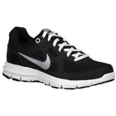 For Mark - Nike Lunar Forever - Big Kids - Running - Shoes - Black/White/Metallic Silver