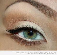 Como maquillarse los ojos de manera natural para diario