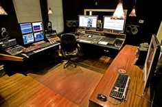 Hopefully someday my studio will look more like this.