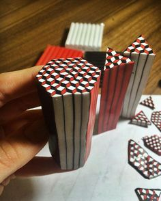 geometric ~ Polymer Clay Canes