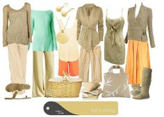 """Truecolour.com.au. """"A casual Light Spring personification of a minimalist with subtle romantic tendencies at a book fair heading for a town park picnic."""""""