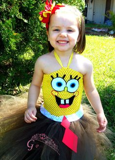 Hey, I found this really awesome Etsy listing at https://www.etsy.com/listing/182719482/spongebob-square-pants-inspired-tutu