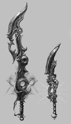 FORGE weapon concept, Boris Nikolic on ArtStation at https://www.artstation.com/artwork/forge-weapon-concept