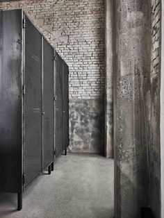 The SPACE copenhagen has managed to transform a former industrial warehouse into a high-end eatery in Copenhagen known as 'restaurant Wc Design, Toilet Design, Industrial Living, Industrial Style, Wc Public, Copenhagen Restaurants, Industrial Toilets, Ideas Baños, Restaurant Bathroom