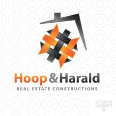 Logo FOR SALE!!! Logo represents an real estate made from two H http://www.thracianweb.com