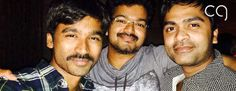 Vijay - Simbu - Dhanush spotted partying hard!