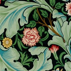 Leicester wallpaper MORRIS & CO I think this is my Nana's table cloth (family heirloom)!!