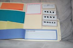 Thinking of Teaching: Interactive Reading Portfolio (Freebie)