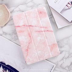 "Marble Grain Flip Cover For iPad Pro 9.7"" Air Air2 Mini 1 2 3 4 Tablet Case Protective Shell for lovers + same case for iphone"