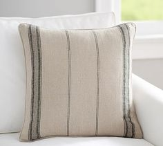 Diego Stripe Pillow Cover #potterybarn