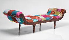 Muebles tapizados en patchwork – Revista Muebles – Mobiliario de diseño