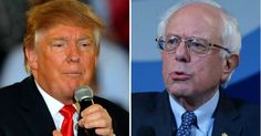 ABC World News Tonight devoted a total 81 minutes this year to Donald Trump's campaign and just about 20 seconds to Sanders' candidacy—a ratio of 81:1. (Photos: Getty Images)  Dec. 13, 2015
