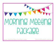 Morning Meeting Package