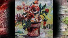 Oil Painting My Little Flower Pot on Vimeo