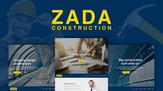 Buy Zada - Construction WordPress Theme by modeltheme on ThemeForest. Want to create and incredible Construction WordPress website? Sick of testing and evaluating themes? Choose the ONE . Wordpress Premium, Amazing Websites, Construction Theme, Website Themes, Website Designs, 404 Page, Corporate Business, Best Wordpress Themes, Make More Money