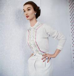 Evelyn Tripp for Vogue, June 1953