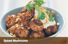 These gluten free, dairy free, low fat paleo spiced mushrooms are a great healthy appetiser for your next dinner party. This vegetarian recipe is rich in flavour and perfect for barbecues and holidays. Vegetarian Recipes, Cooking Recipes, Savoury Recipes, Mushroom Varieties, Australian Food, Australian Recipes, Stuffed Mushrooms, Stuffed Peppers, Healthy Appetizers