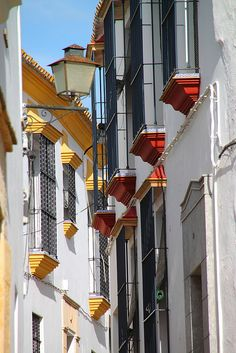 Balcones en Carmona, Sevilla Spain