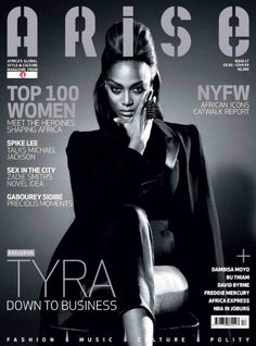 I have loved Tyra for as long as I can remember! She is constantly reinventing herself and pushing her limits to conquer new things. She's been skinny, curvy and fuller figured...and never once did she forget to be FIERCE.