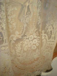 Vintage lace panel.