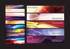 Beautiful dream banner background Vector Graphics