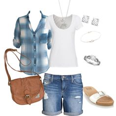 """""""Simple Summer"""" by sharonjoyfilled on Polyvore"""