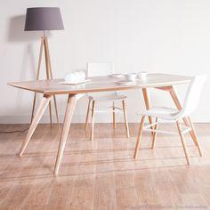 Table à manger en bois NORDLAND kaligrafik