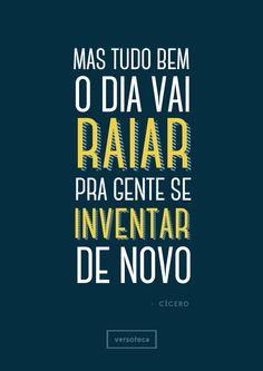 Cícero - Tempo de Pipa  poster | musica | música | music | músicas | song | quote | trecho | frase | frases | parte | tipografia | tipography