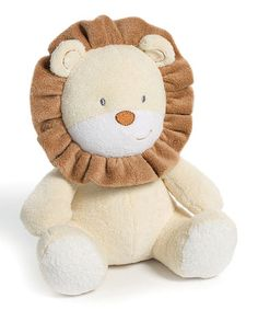 Take a look at this Lion Plush Toy by Nat & Jules on #zulily today!