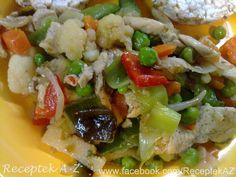 Kuracie prsia s dusenou zeleninou | Recepty A-Z