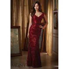 MGNY by Mori Lee Mother of the Bride Dress 71410